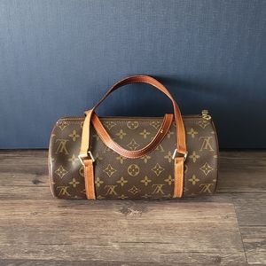 Vintage Louis Vuitton Papillon Monogram Handbag